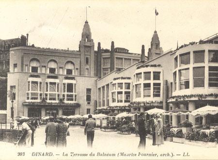 Visite guid e dinard l entre deux guerres entre modernisme et r gionalisme - Dinard office du tourisme ...
