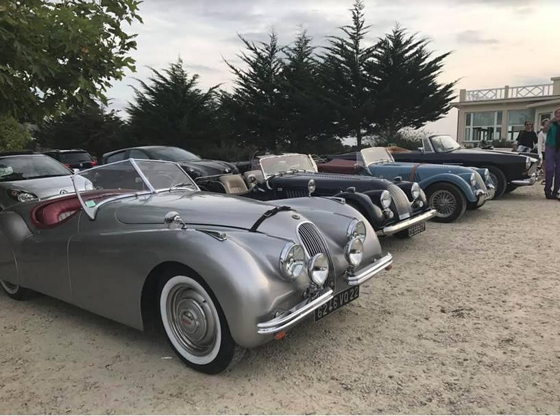 saint-eno auto rétro 2018, rassemblement de voitures anciennes à dinard