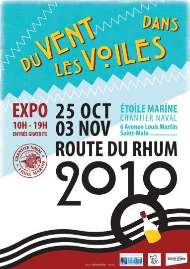 Du Vent Dans Les Voiles Exposition à Saint Malo