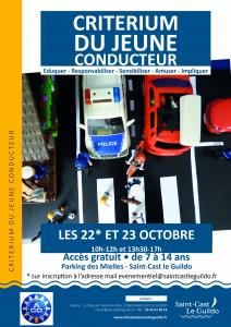 Criterium du Jeune Conducteur à Saint-Cast-le-Guildo